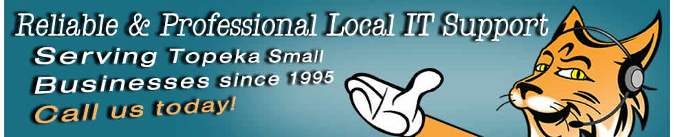 Reliable and Professional Local IT Support. Serving Topeka Small Businesses since 1995.