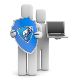 fully cloud hosted and managed antivirus service